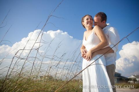 wedding photography on Topsail Island NC