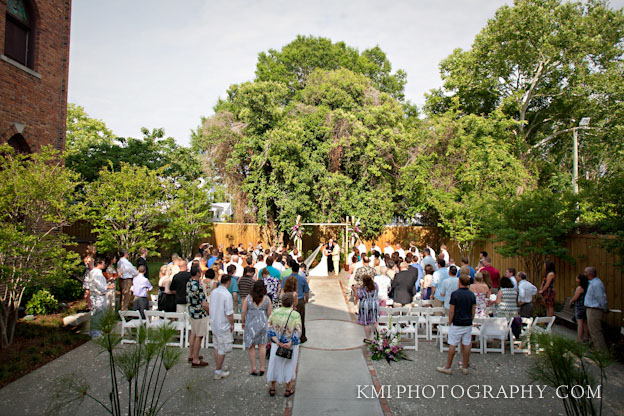 Brooklyn Arts Center Wilmington NC Wedding Photographer Wilmington NC Wedding Photographers