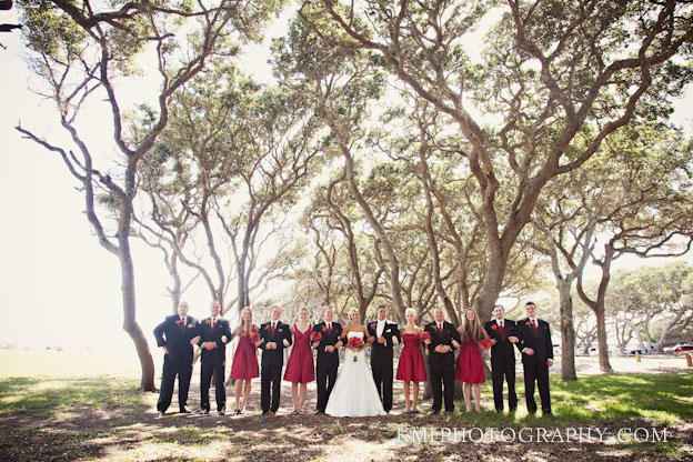 Fort Fisher NC wedding photos