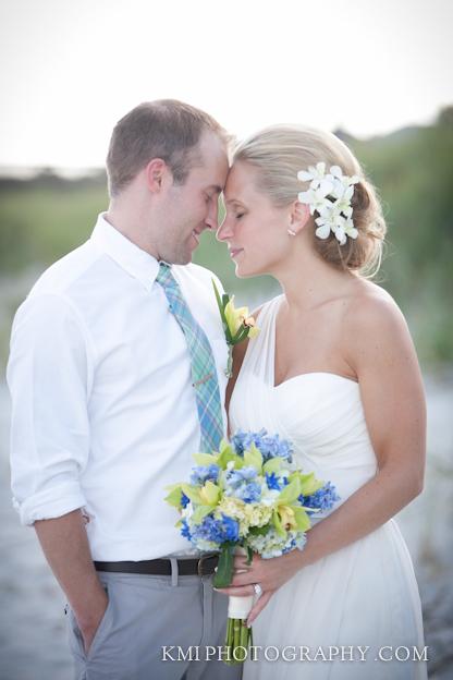 Oak island wedding photos