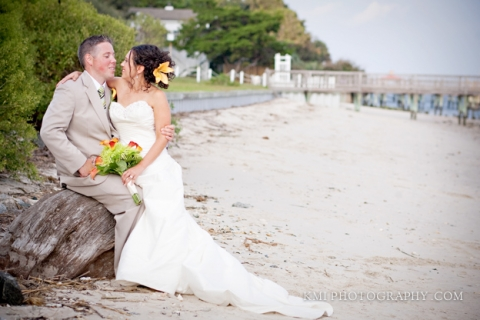 Southport NC wedding photos