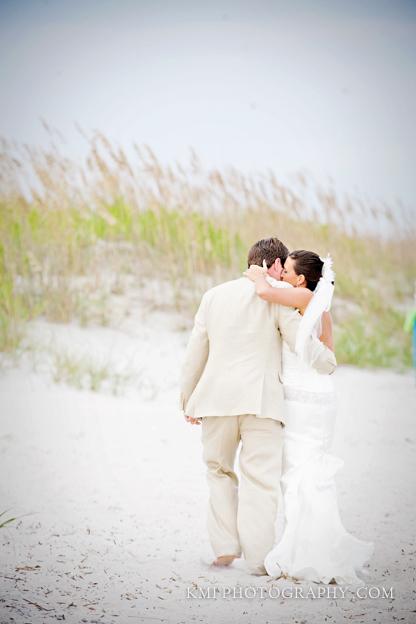 oak island nc wedding photos
