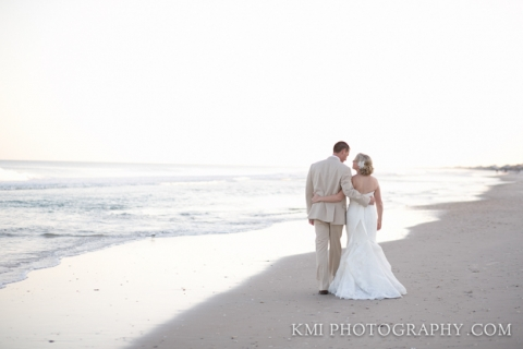 Topsail Island wedding photography