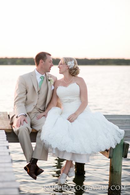 Beach Weddings In Topsail Island Nc