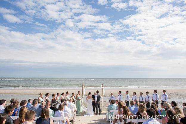 beach ceremony near wilmington nc