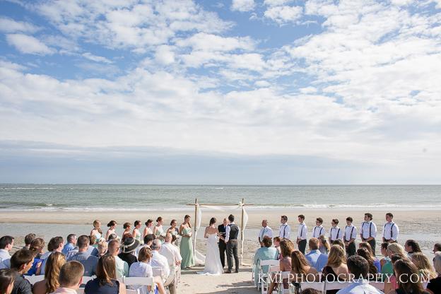 Beach Ceremony Near Wilmington Nc