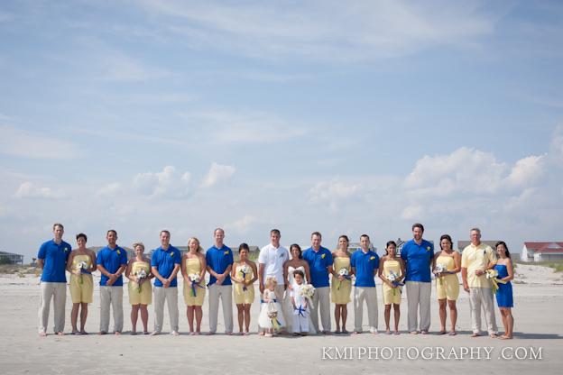 Ocean Spray Beach House Holden Beach NC Wedding Photography Wilmington NC Wedding