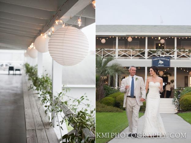 Wrightsville Beach Wedding Photographer Carolina Yacht Club Nc Bride And