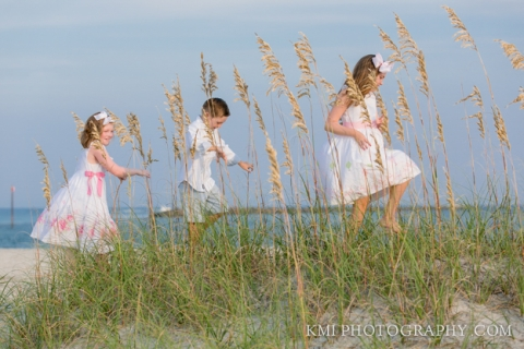 A beautiful family photo session in Ocean Isle NC
