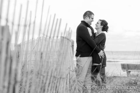 Wrightsville Beach NC engagement session