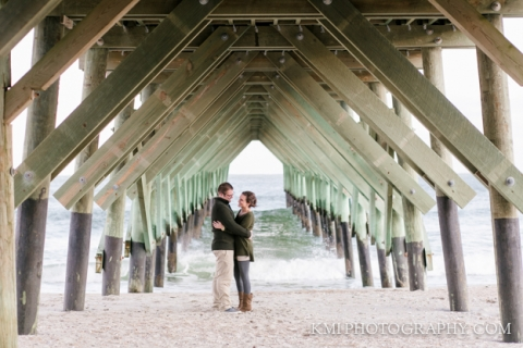 Wrightsville Beach engagement session