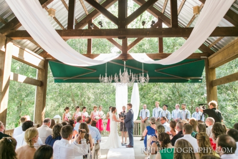 river landing wedding ceremony