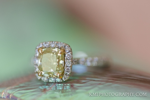 engagement ring photographed at wrightsville manor
