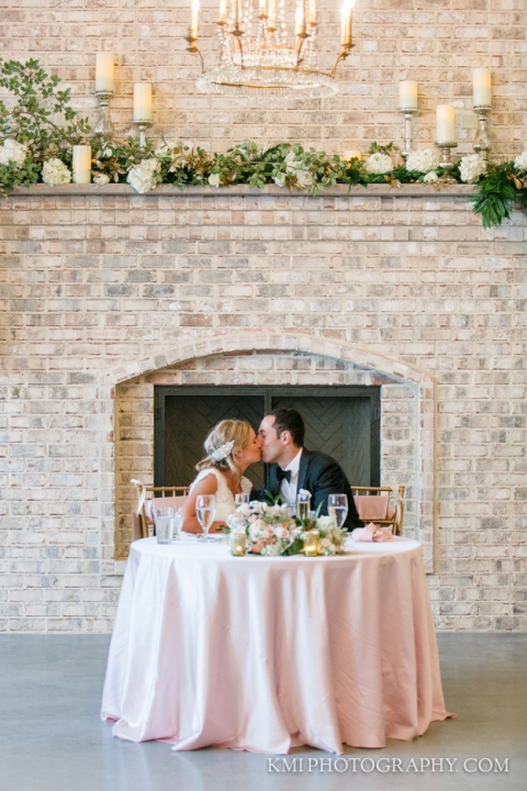 wedding reception at Wrightsville Manor