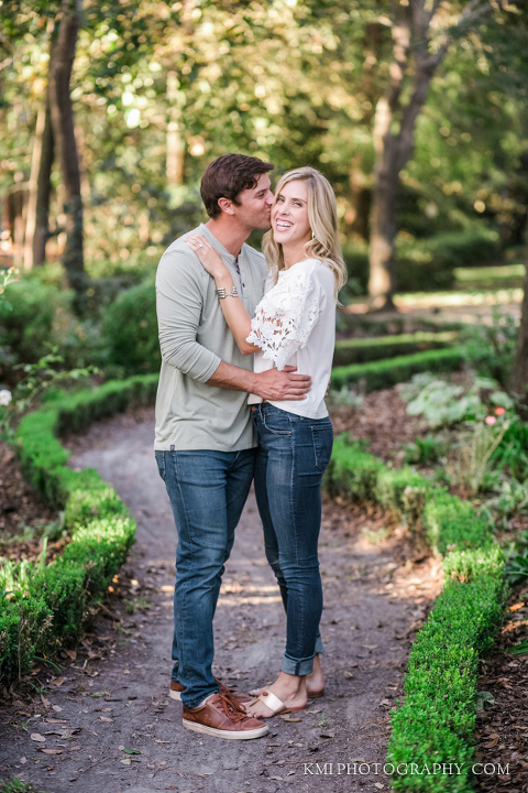 a beautiful couple photographed by KMI Photography in Wilmington NC