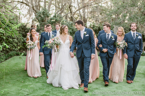 a beautiful summer wedding at wrightsville manor