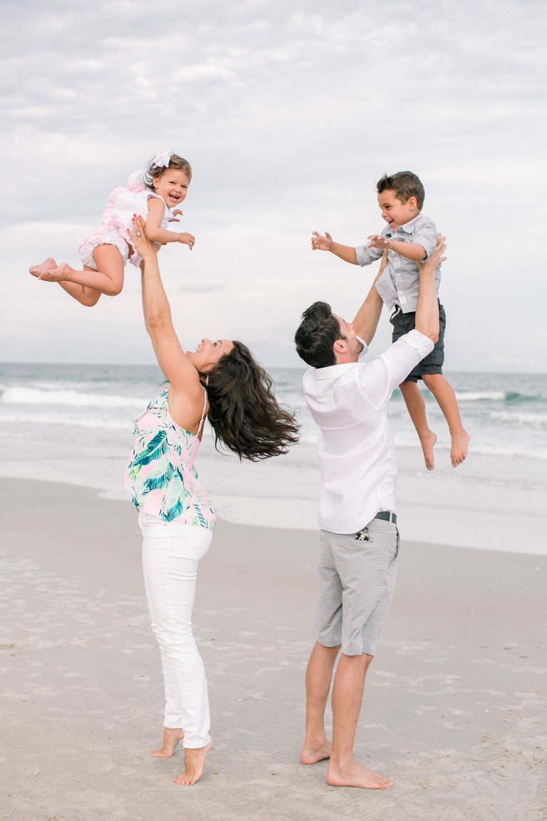 family photos at Wrightsville Beach NC
