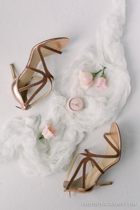 bridal shoes at Brooklyn arts center