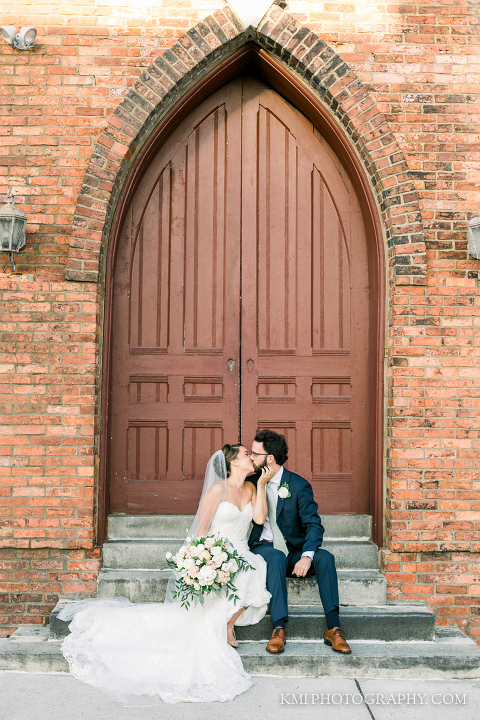 a beautiful Brooklyn arts center wedding