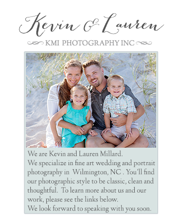 Wilmington NC Wedding Photographers and Portrait Photographers logo